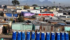 shacks and toilets